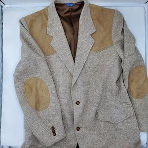 Pendleton Vintage Mens Pure Virgin Wool Blazer